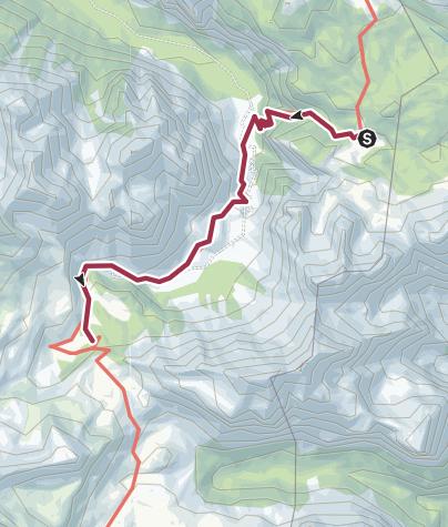 Map / DH1 2b Schutzhaus Fodara Vedla - Faneshütte
