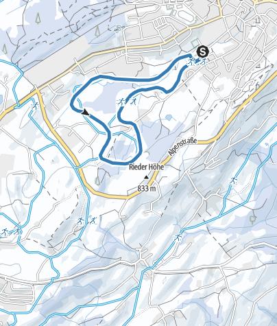 Map / Lindenberg Hansenweiher-Loipe