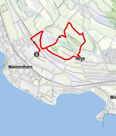 Karte / Nonnenhorn R14 Nonnenhorner Runde