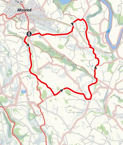 Karte / Altusrieder Rundwanderweg