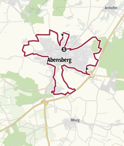Map / Panoramaweg Abensberg