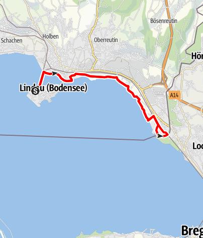 Karte / Lindau R10 Ufer Runde