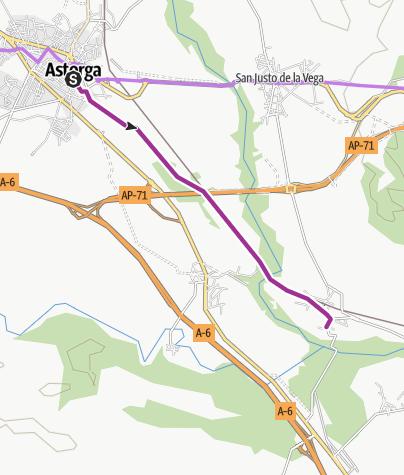 Map / Astorga - Nistal