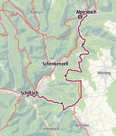 Karte / Der Weg des Holzes