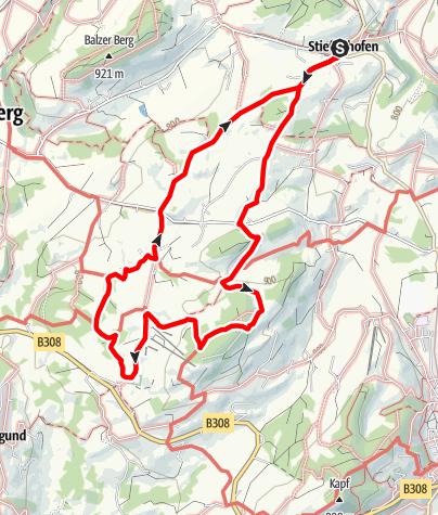 Karte / Stiefenhofen R3 Kräutergartenrunde