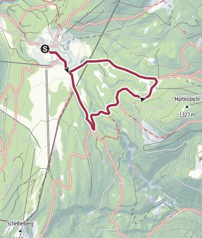 Map / Auf der Winklmoos-Alm