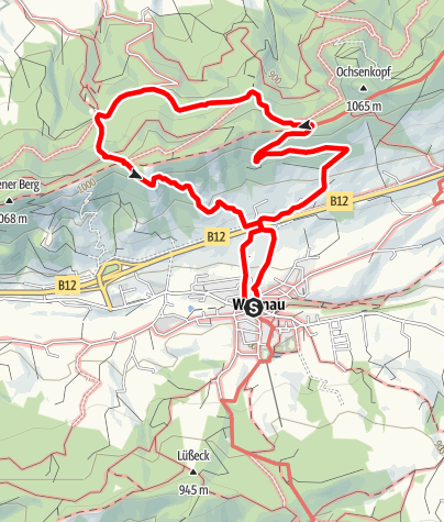 Karte / Weitnau - Alttrauchburg