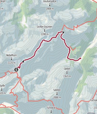 Karte / Koblat-Höhenweg