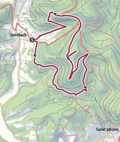 Karte / Ruine Neuscharfeneck