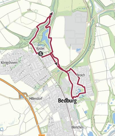 Karte / Werwolf-Wanderweg