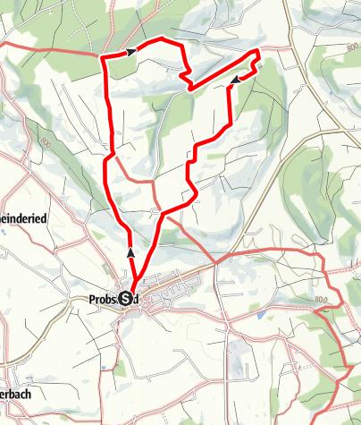 Karte / Wanderweg 7