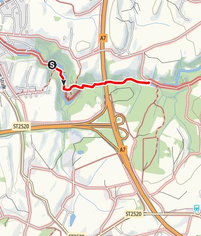 Karte / T3 Wasserweg (Themenweg Durach)