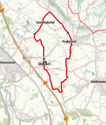Karte / Wanderweg 8
