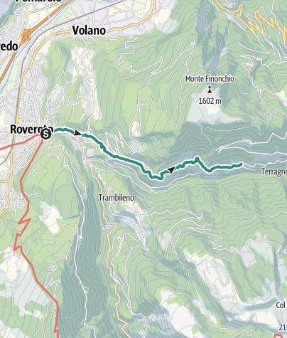 Cartina / Sentiero dele Teragnòle