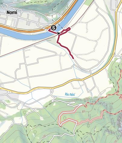 Cartina / Il Taio di Nomi