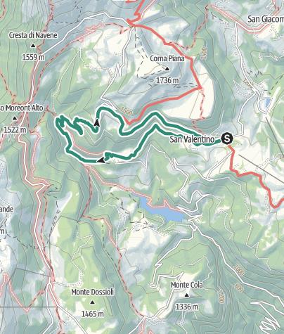 Cartina / Terre Verdi
