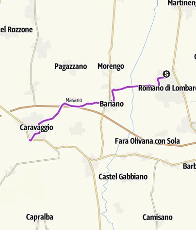 Map / #19 Romano - Caravaggio