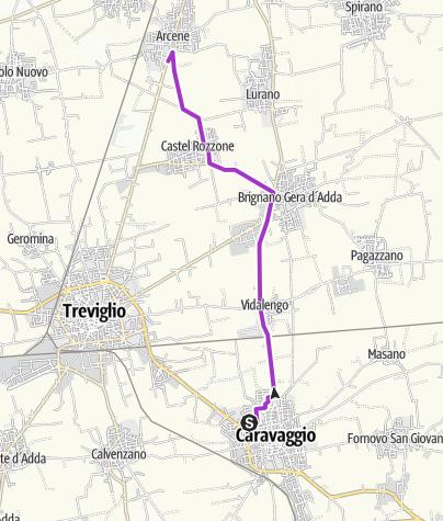 Map / #20 Caravaggio - Arcene