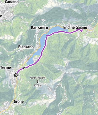 Map / #11 Casazza - Endine Gaiano