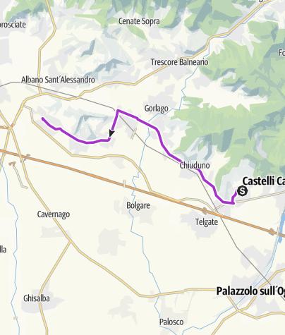 Map / #16 Grumello del Monte - Brusaporto