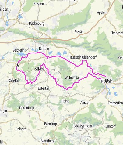 Mappa / Von Hameln ins Kalletal