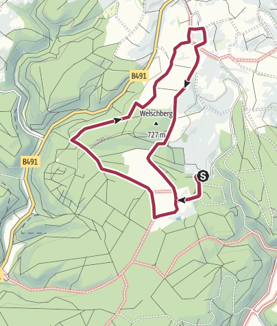 Map / Oberer Hegau Nord: Rundwanderung am Schenkenberg