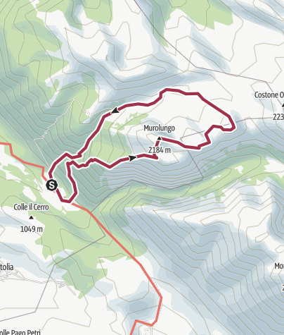 Map / Montoni-Murolungo