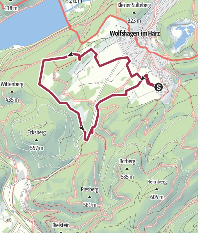 Map / Innerstesperre  2014_09_04