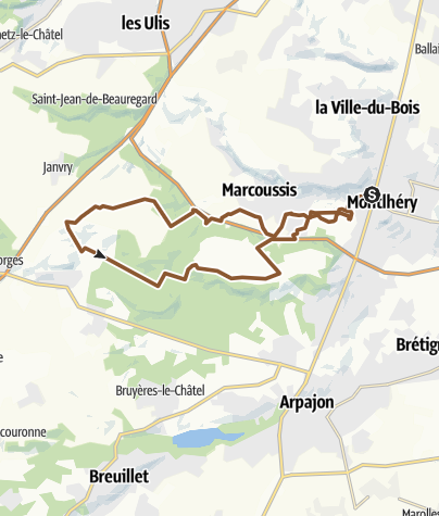 Map / 1 Circuit Montlhery Marcoussi Fontenay les bries
