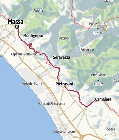 Map / Francigena_02_Massa-Camaiore