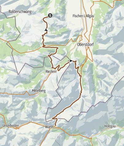 Map / Allgäu Second Day