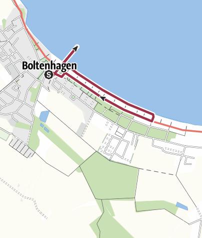 Boltenhagen Ostsee Karte.Boltenhagen Strandpromenade Wanderung Outdooractive Com