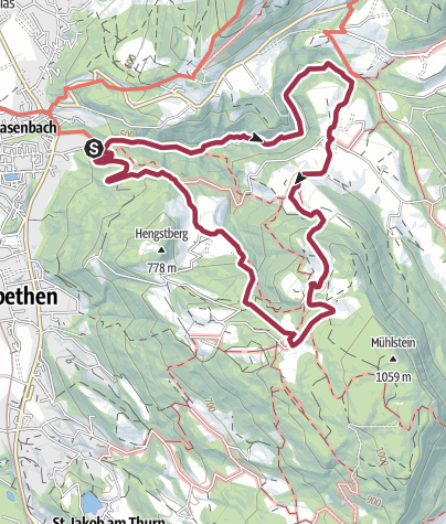 Map / Glasenbachklamm