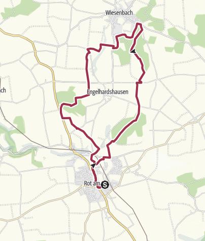 Karte / Über die Hohenloher Ebene