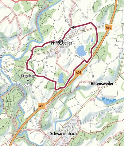 Karte / Wangen - Rund um Primisweiler