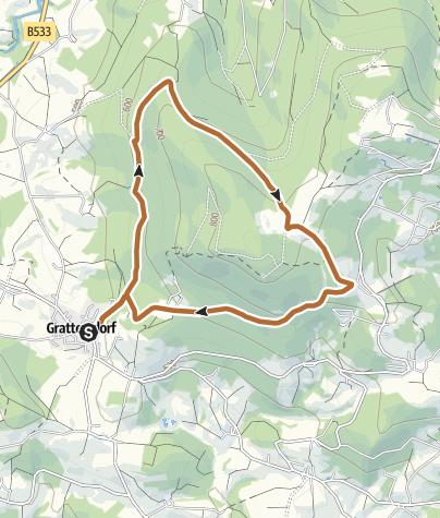Karte / Rund um den Bichelstein nahe Hengersberg