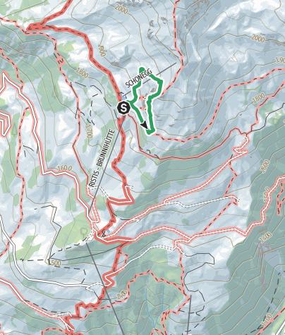 Map / Der Brunnistöckli Klettersteig über Engelberg/Titlis