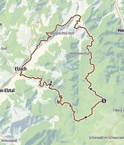 Map / Schonach - Talwärts ins Zweitälerland