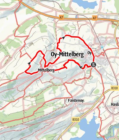 Karte / Steinmeile