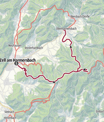 Karte / Hinauf zum Brandenkopf