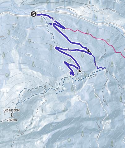 Karte / Brandstattalm bei Neustift