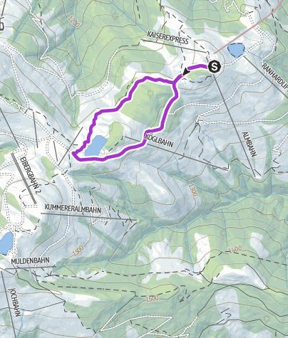 Map / Hartkaiser-Runde Ellmau
