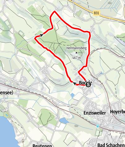 Karte / Bodolz R16 Taubenberg Runde