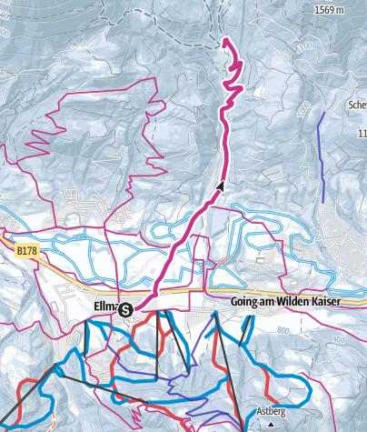 Karte / Wochenbrunn-Weg