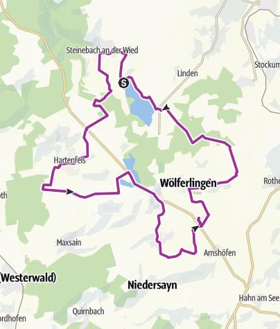 Karte / 7-Weiher-Weg