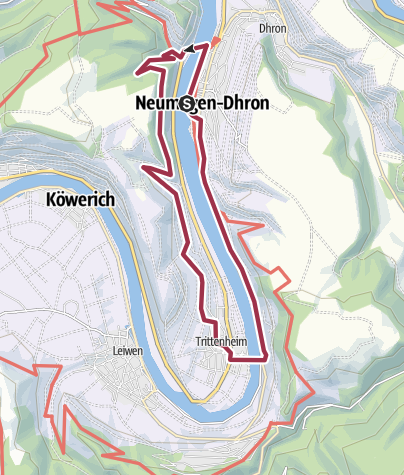 Karte / Riesling-Tour
