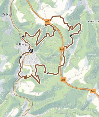 Karte / Wandertag Mountainbike