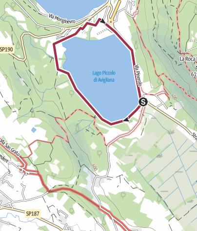 Map / Giro del Lago Piccolo di Avigliana