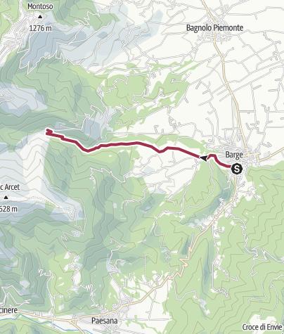 Map / Barge - Pra 'd Mill