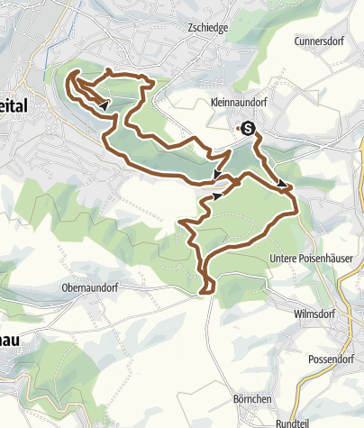 Karte / DoB - Windbergrunde vom 14.03.2009